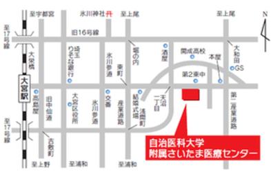 さいたま医療センター略図